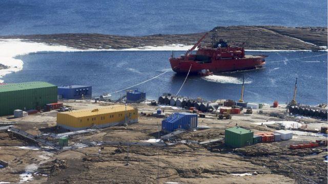 Aurora Australis: Antarctica icebreaker passengers rescued