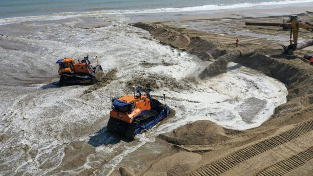 Vast sand scheme to protect Norfolk coast
