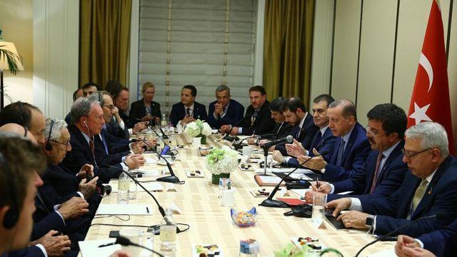 Erdoğan ve ABD'li yatırımcılar