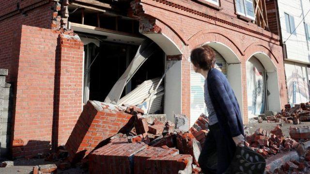 Будинок після землетрусу