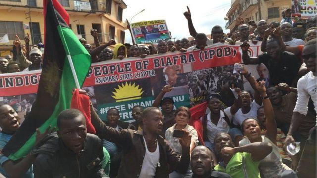 Mudaharaadayaal taageersan gooni u goosashada Biafra