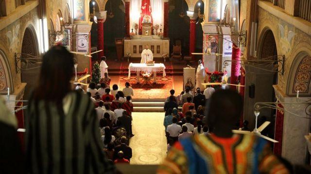 ဆူဒန်မြို့တော်က ခရစ်ယာန် ဘုရားကျောင်း