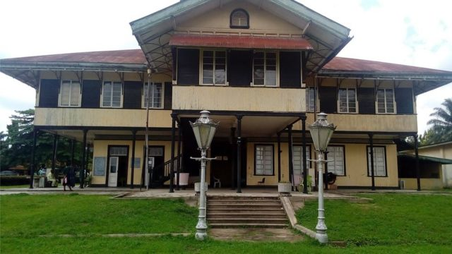 The old British colonial administration operated from this building in Calabar