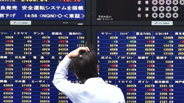日本株の株価ボード