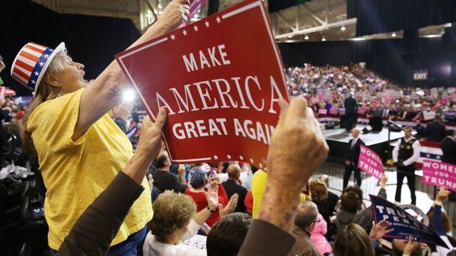 Trump-ın Klivlenddəki dəstəkçiləri