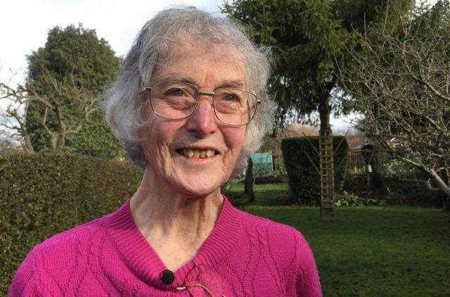 Janet Osborne hopes to continue gardening if her sight loss is halted