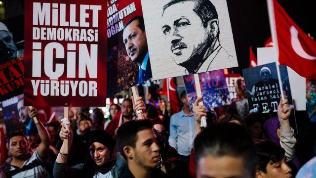 Türkiye'de 15 Temmuz sonrası sokak gösterileri