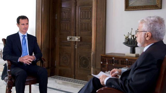Presiden Al-Assad menyambut janji kebijakan baru AS tentang Suriah di bawah Trump, namun meragukan pelaksanaannya.