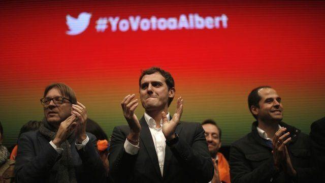 Ciudadanos party leader Albert Rivera