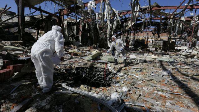 Yemen conflict: US strikes radar sites after missile attack on ship