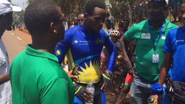 Bosco Nsengimana aliyemaliza wa pili.