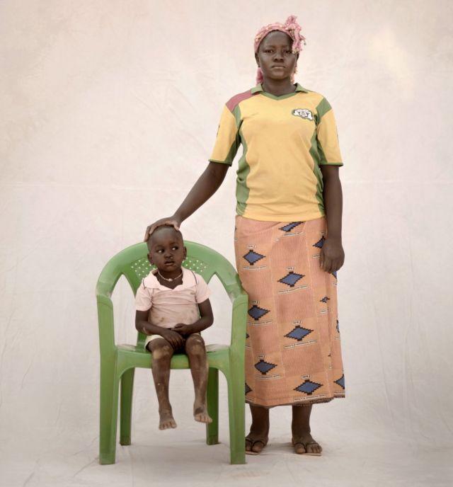 Poko and her son Tiga