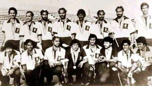 1980-ல் பதக்கம் வென்ற இந்திய ஹாக்கி அணி
