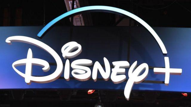 Логотип Disney+