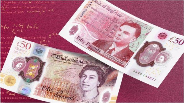 英国公布新50英镑纸币的设计