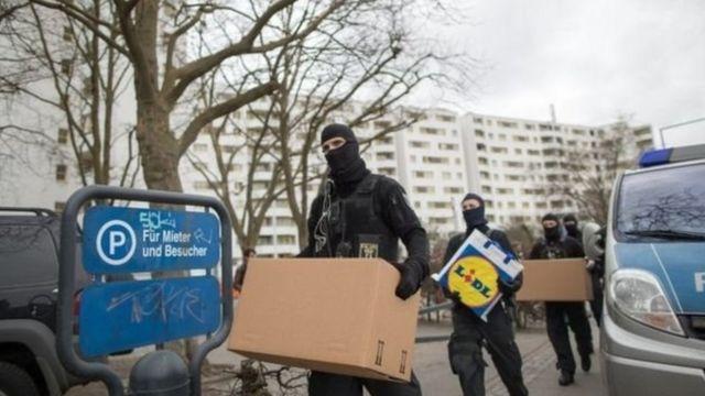 شرطة ألمانية