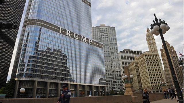 تخصص ترامب في بناء ناطحات السحاب والبنايات الكبرى والفنادق الفخمة ونوادي القمار