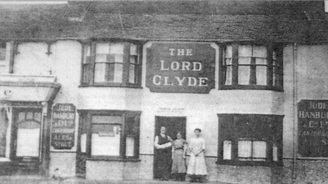 """Череп был обнаружен в пабе """"Лорд Клайд"""" в 1963 году"""