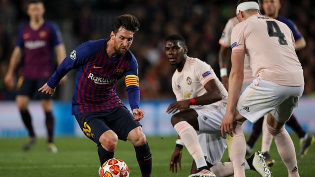 Messi na ndị Man Utd