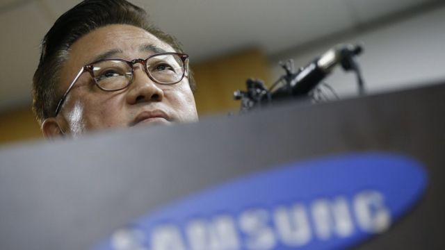 Koh Dong-Jin, presidente de Samsung Electronics Mobile