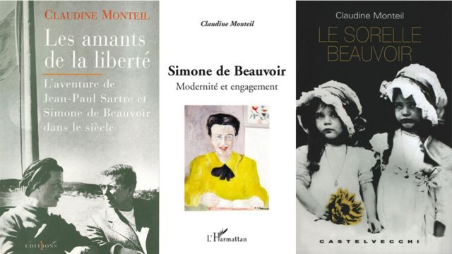 Tres libros de Monteil.