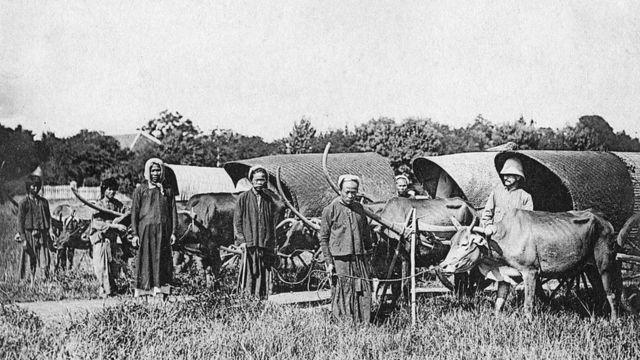 Camponeses na China