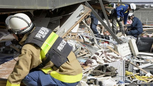 In pictures: Japan earthquake
