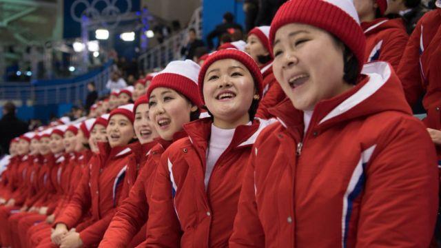 북한의 응원단