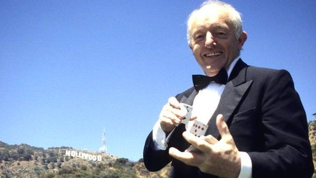 Paul Daniels in Hollywood