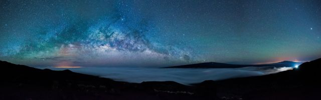 Earth's Rise through the Universe by Gianni Krattli
