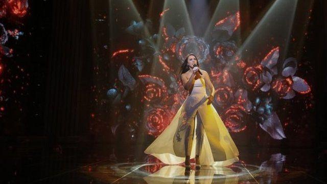 Jamala on stage