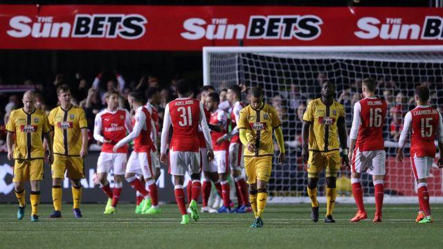 Arsenal celebra su segundo gol