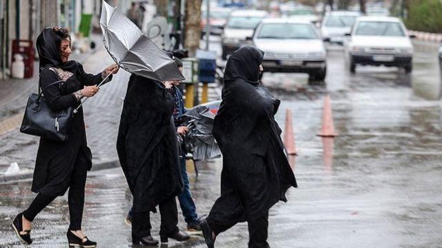 سیل در تبریز