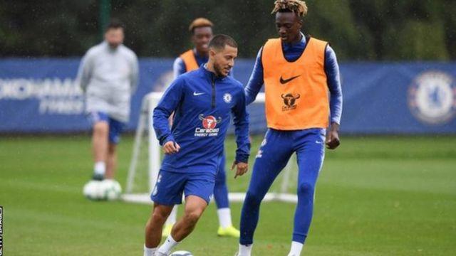 Eden Hazard wa Chelsea na Ubelgiji