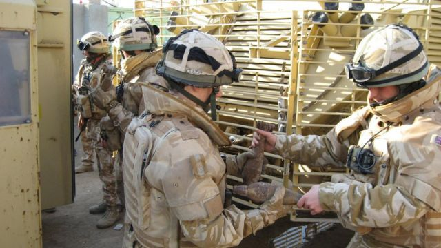 Abasirikare b'Ubwongereza mu ntambara yo muri Irake