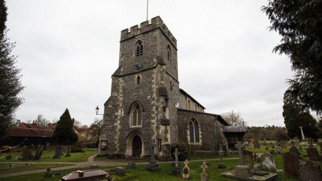 Сельская церковь в Англии