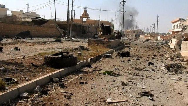 مناطق شهدت اشتباكات في معركة الموصل بين القوات العراقية وحلفائها وتنظيم الدولة