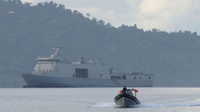 Tập trận chung diễn ra sau căng thẳng giữa Philippines và Trung Quốc tại một khu vực thuộc EEZ của Philippines.