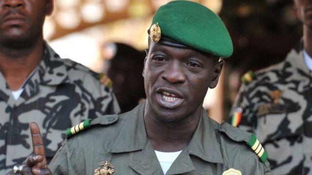 Le général Amadou Sanogo