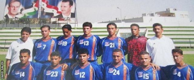 فهد صالح مع فريق الكرامة السوري