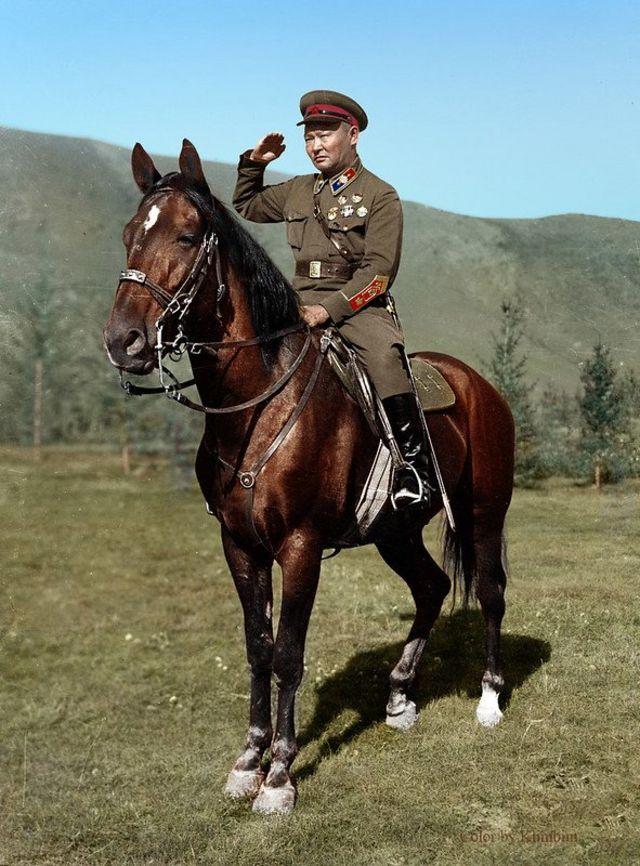 Choilbalsang 2:二戰期間的蒙古人民共和國領導人喬巴山