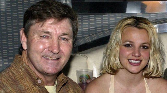 Padre con Britney