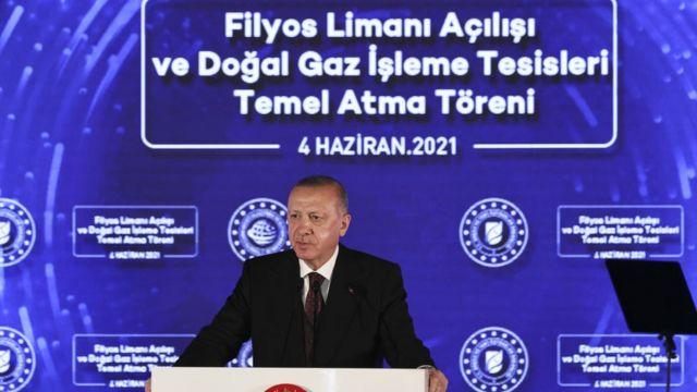 Cumhurbaşkanı Recep Tayyip Erdoğan, Zonguldak'ta daha önce açıklayacağını duyurduğu müjdeyi duyurdu. Erdoğan, Fatih Sondaj Gemisi'nin, Sakarya gaz sahasındaki Amasra-1 kuyusunda 135 milyar metreküplük yeni bir doğal gaz keşfi daha yaptığını belirtti. Böylece Karadeniz'deki toplam gaz keşfi 540 milyar metreküpe ulaştı.