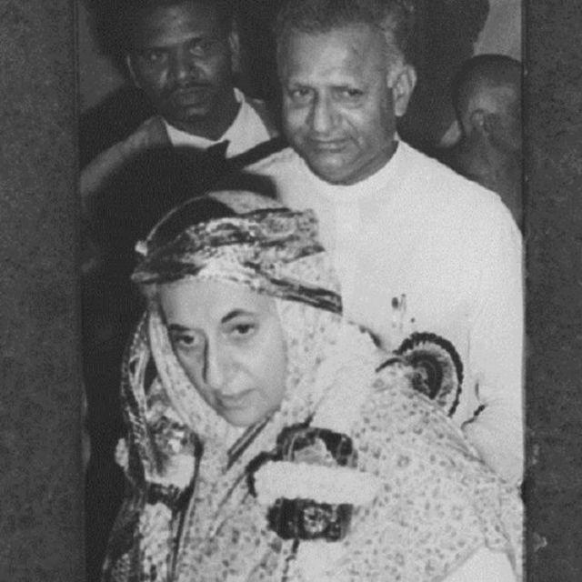 इंदिरा गांधी, देवराज उर्स