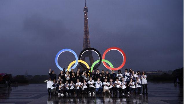 Paris, Prancis, Olimpiade, Eiffel