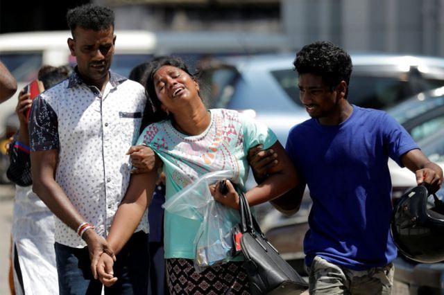 Взрывы в Шри-Ланке