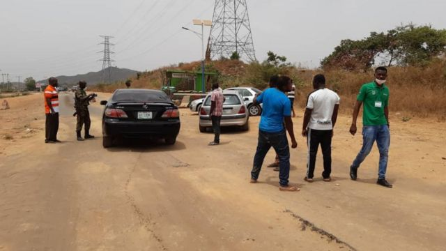 Coronavirus Yadda Abuja Da Lagos Suka Kasance A Rufe Bbc News Hausa