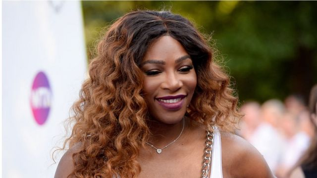 Serena Williams assiste à une fête à Londres en juin 2018