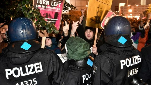 """احتاجات ضد حزب """"بديل من أجل ألمانيا"""" في برلين"""