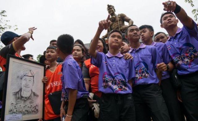 Thái Lan, đội bóng Thái, Tham Luang